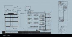 Verbouwing tot lofts in Paleisstraat Antwerpen, Peter Mermans Architect