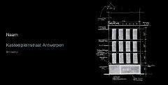 Architect Peter Mermans uit Antwerpen, KASTEELPLEINSTRAAT ANTWERPEN