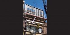 Verbouwing in Vrijheidstraat Antwerpen door Peter Mermans Architect uit Antwerpen